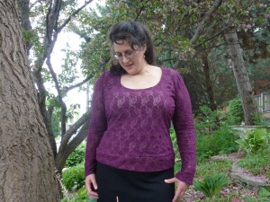 Butterick 3344 in lace